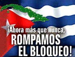 Junto a la dignidad de cubanas y cubanos voces hermanas contra el bloqueo