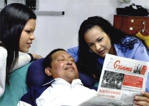 Primeras fotos de Chávez en su proceso de rehabilitación